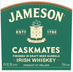 jameson caskmates ipa front