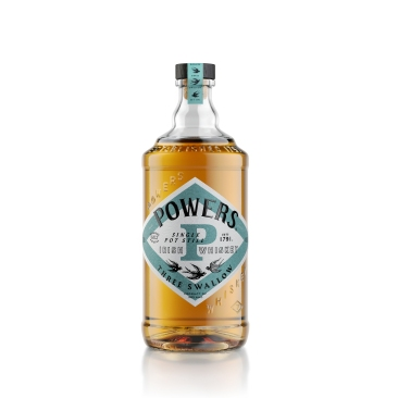 Powers Three Swallow - White Bottle Shot